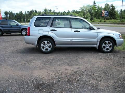 2004 Subaru Forester for sale at Superior Auto of Negaunee in Negaunee MI