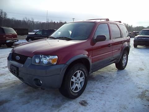2005 Ford Escape for sale in Negaunee, MI