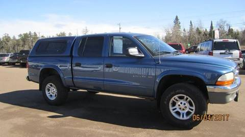 2002 Dodge Dakota for sale at Superior Auto of Negaunee in Negaunee MI