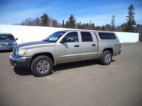 2005 Dodge Dakota for sale at Superior Auto of Negaunee in Negaunee MI