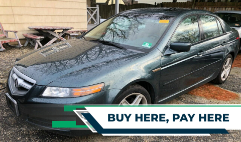 2005 Acura TL for sale at CANDOR INC in Toms River NJ