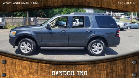 2010 Ford Explorer for sale at CANDOR INC in Toms River NJ