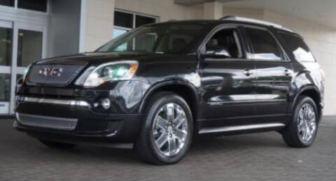 2011 GMC Acadia for sale at CANDOR INC in Toms River NJ