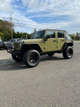 2013 Jeep Wrangler Unlimited for sale at CANDOR INC in Toms River NJ