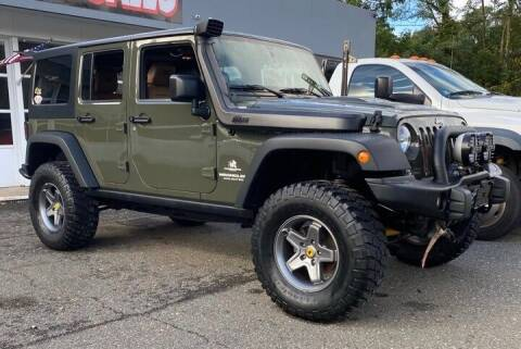 2015 Jeep Wrangler Unlimited for sale at CANDOR INC in Toms River NJ