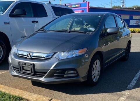 2012 Honda Insight for sale at CANDOR INC in Toms River NJ