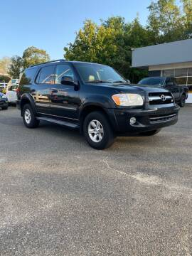 2006 Toyota Sequoia for sale at CANDOR INC in Toms River NJ