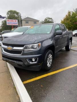 2016 Chevrolet Colorado for sale at CANDOR INC in Toms River NJ