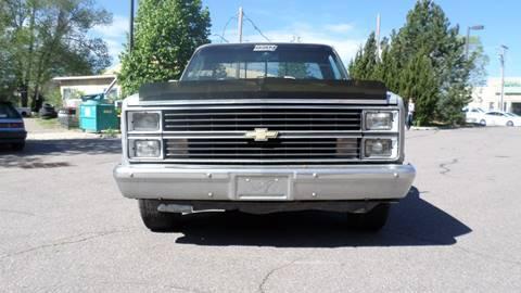 1984 Chevrolet C/K 10 Series for sale in Loveland, CO
