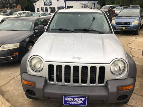 2004 Jeep Liberty for sale in Loveland, CO
