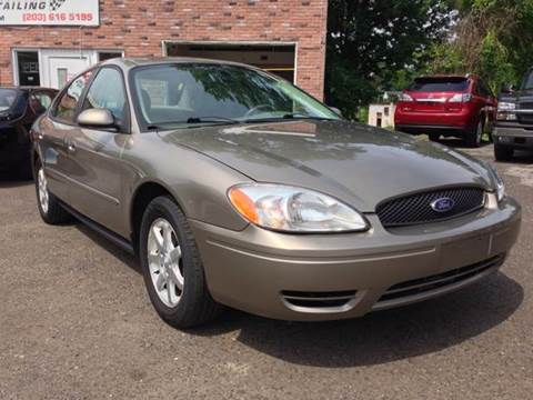 2007 Ford Taurus for sale at CarsForSaleNYCT in Danbury CT
