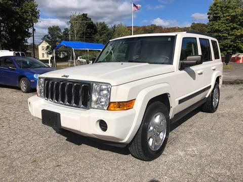 2007 Jeep Commander Sport for sale at CarsForSaleNYCT in Danbury CT
