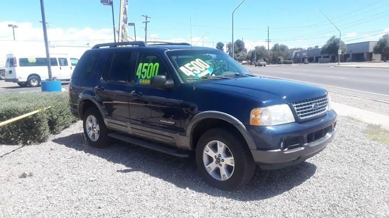 2005 Ford Explorer for sale at CAMEL MOTORS in Tucson AZ