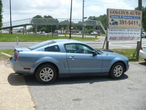 2007 Ford Mustang for sale at Colvin Auto Sales in Tuscaloosa AL