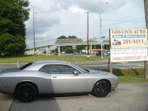 2014 Dodge Challenger for sale at Colvin Auto Sales in Tuscaloosa AL
