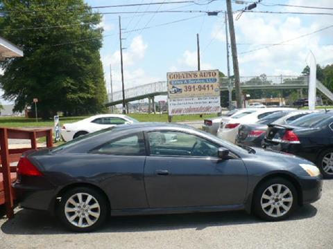 2007 Honda Accord for sale at Colvin Auto Sales in Tuscaloosa AL
