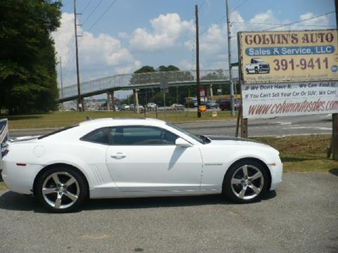 2011 Chevrolet Camaro for sale at Colvin Auto Sales in Tuscaloosa AL