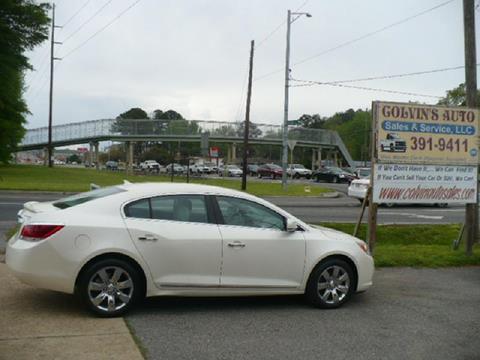 2011 Buick LaCrosse for sale at Colvin Auto Sales in Tuscaloosa AL