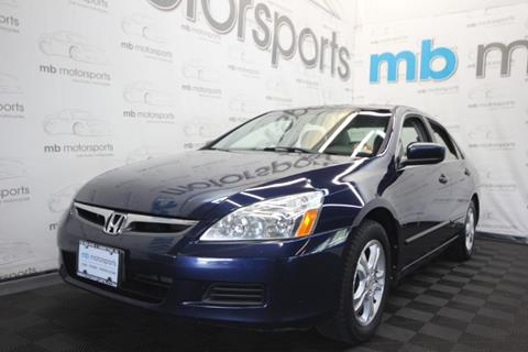 2007 Honda Accord for sale in Asbury Park, NJ