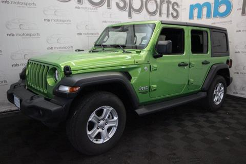 2019 Jeep Wrangler Unlimited for sale in Asbury Park, NJ