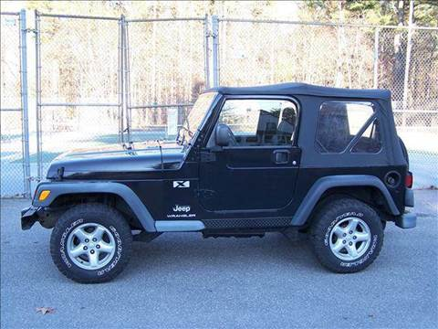 2003 Jeep Wrangler for sale at William's Car Sales aka Fat Willy's in Atkinson NH