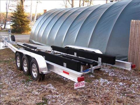 2011 ACE tri axle aluminum boat trailer 373918B 35'-40' for sale at William's Car Sales aka Fat Willy's in Atkinson NH