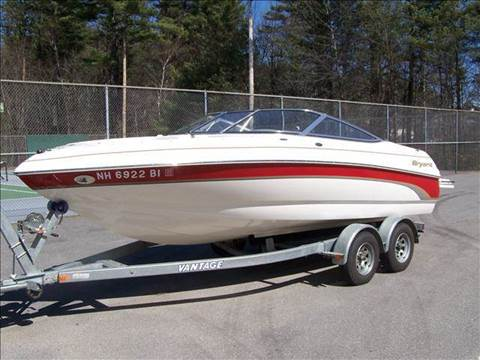 2005 Bryant bow rider for sale at William's Car Sales aka Fat Willy's in Atkinson NH