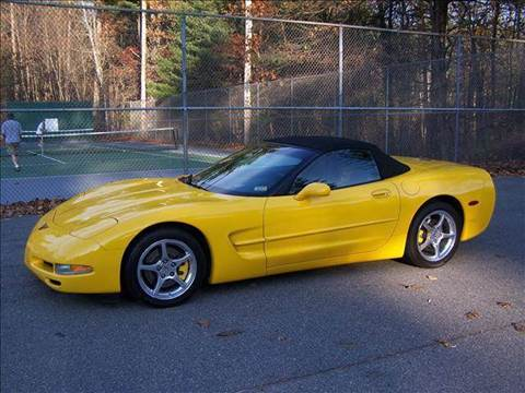 2001 Chevrolet Corvette for sale at William's Car Sales aka Fat Willy's in Atkinson NH