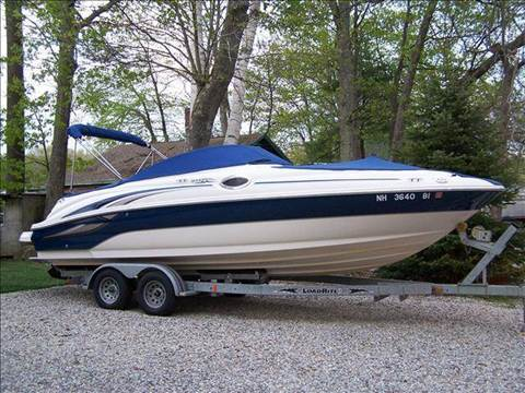 2003 Sea Ray 240 Sundeck for sale at William's Car Sales aka Fat Willy's in Atkinson NH