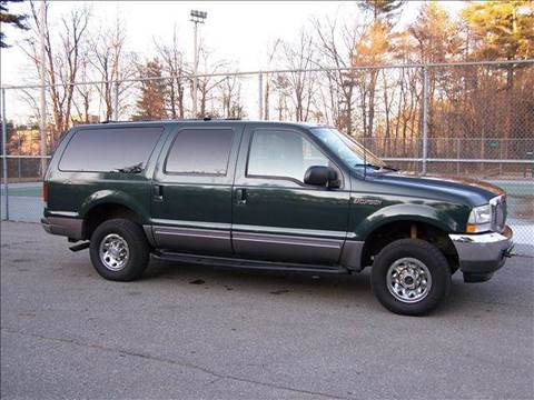 2002 Ford Excursion for sale at William's Car Sales aka Fat Willy's in Atkinson NH