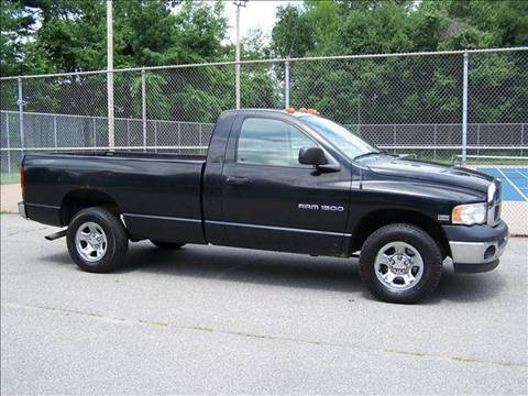 2003 Dodge Ram Pickup 1500 for sale at William's Car Sales aka Fat Willy's in Atkinson NH