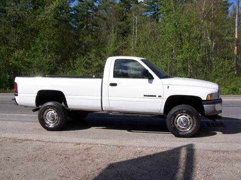 2002 Dodge Ram Pickup 2500 for sale at William's Car Sales aka Fat Willy's in Atkinson NH