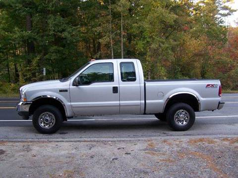 2003 Ford F-250 for sale at William's Car Sales aka Fat Willy's in Atkinson NH