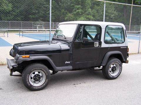 1990 Jeep Wrangler for sale at William's Car Sales aka Fat Willy's in Atkinson NH