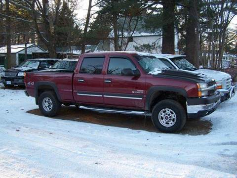 2004 Chevrolet Silverado 2500 for sale at William's Car Sales aka Fat Willy's in Atkinson NH