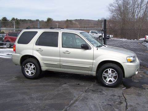 2005 Ford Escape for sale at William's Car Sales aka Fat Willy's in Atkinson NH