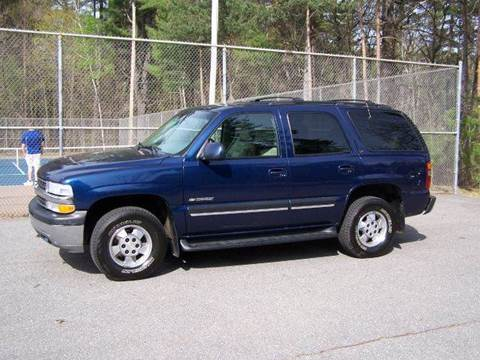 2001 Chevrolet Tahoe for sale at William's Car Sales aka Fat Willy's in Atkinson NH