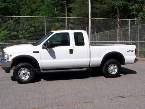 2002 Ford F-250 for sale at William's Car Sales aka Fat Willy's in Atkinson NH