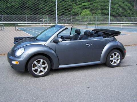 2005 Volkswagen Beetle Convertible for sale at William's Car Sales aka Fat Willy's in Atkinson NH