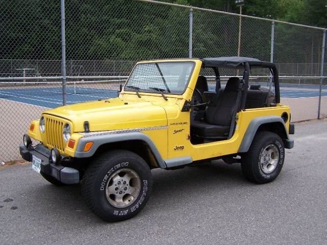 2002 Jeep Wrangler Sport   Derry NH