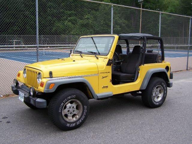 2002 Jeep Wrangler Sport   Derry NH