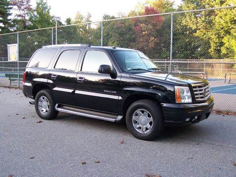 2004 Cadillac Escalade for sale at William's Car Sales aka Fat Willy's in Atkinson NH