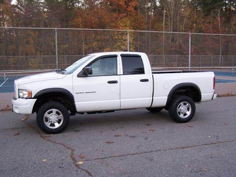 2003 Dodge Ram Pickup 2500 for sale at William's Car Sales aka Fat Willy's in Atkinson NH