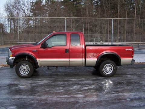 2002 Ford F-250 Super Duty for sale at William's Car Sales aka Fat Willy's in Atkinson NH