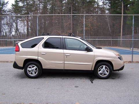 2003 Pontiac Aztek for sale at William's Car Sales aka Fat Willy's in Atkinson NH