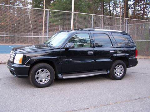 2003 Cadillac Escalade for sale at William's Car Sales aka Fat Willy's in Atkinson NH