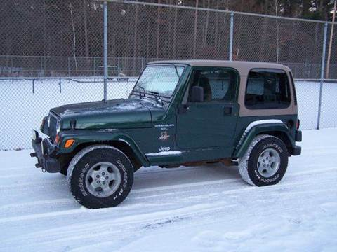 2000 Jeep Wrangler for sale at William's Car Sales aka Fat Willy's in Atkinson NH