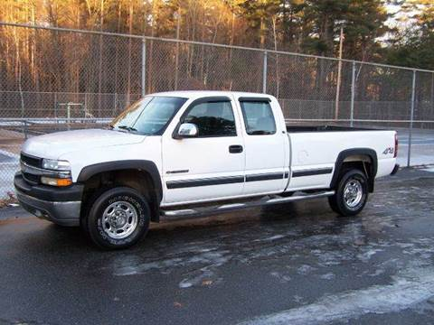 2002 Chevrolet Silverado 2500HD for sale at William's Car Sales aka Fat Willy's in Atkinson NH