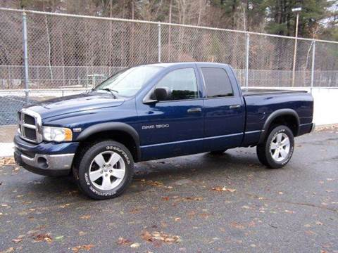 2004 Dodge Ram Pickup 1500 for sale at William's Car Sales aka Fat Willy's in Atkinson NH
