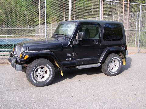 Jeep Wrangler For Sale in Derry, NH - William's Car Sales aka Fat